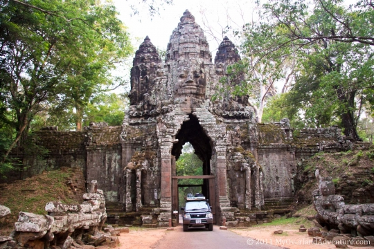Angkor Thom - North Gate