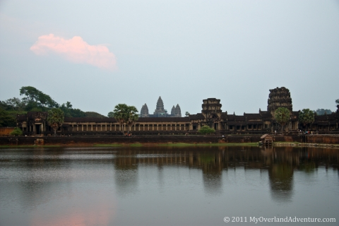 Angkor Wat - West View