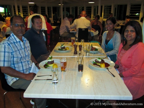 Dinner in Port Douglas