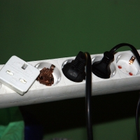 Frog in Power Adaptor
