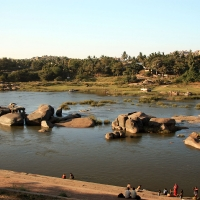 Hampi River